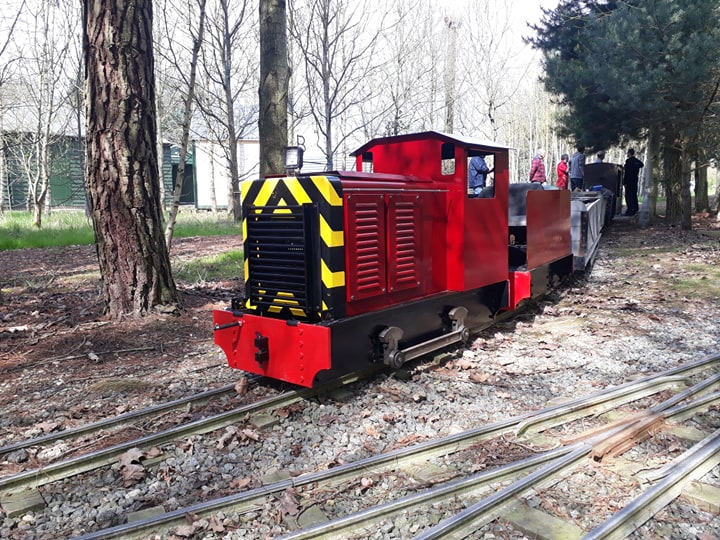 Works Shunter 'Dereck' 0-4-0