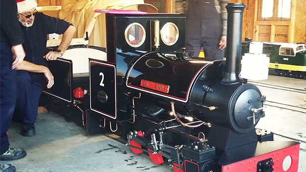 Large Stafford Class 0-6-0ST 'Sally Anne'